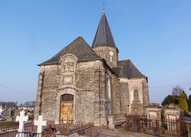 Photo du Monument Historique Eglise situé à Saint-Paul-du-Vernay