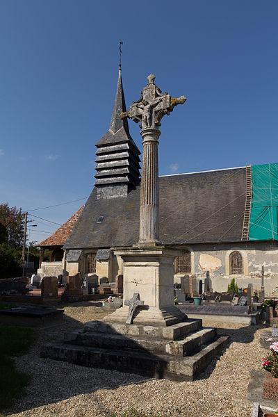 Photo du Monument Historique Croix du cimetière situé à Saint-Pierre-de-Mailloc