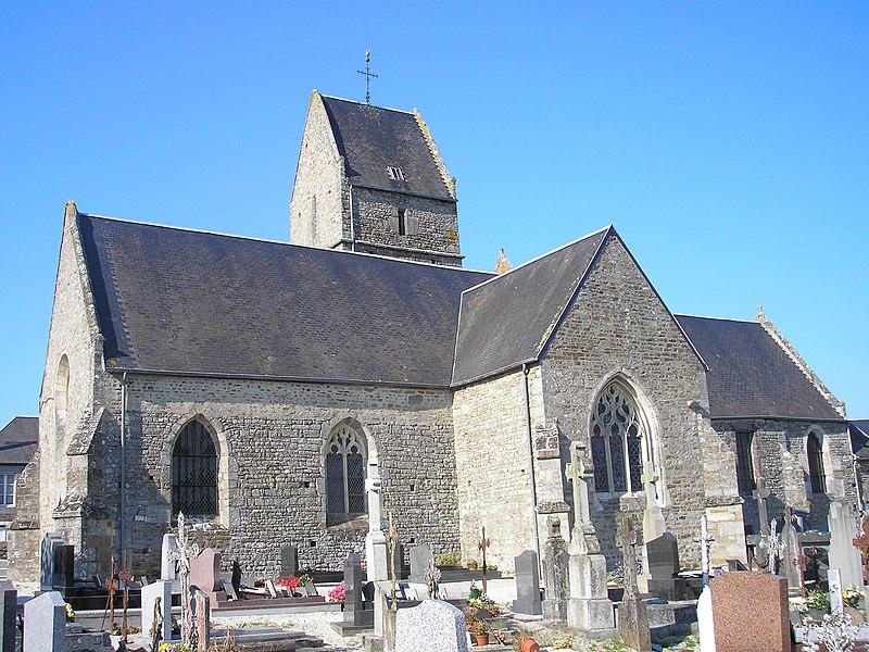 Photo du Monument Historique Eglise situé à Saint-Vigor-des-Mézerets