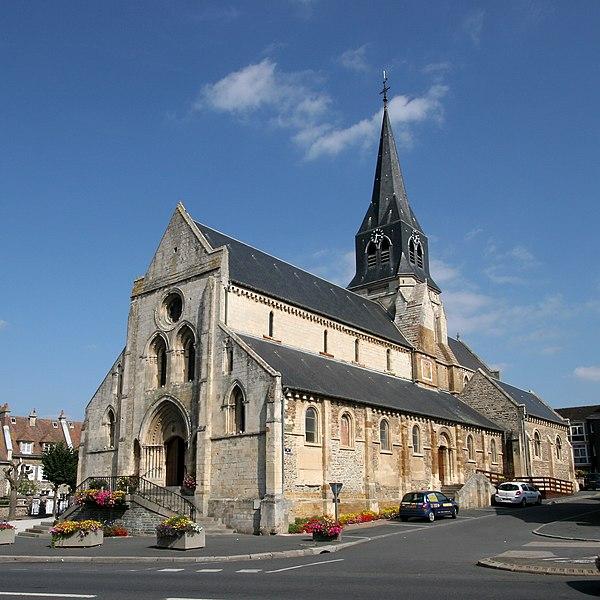 Photo du Monument Historique Eglise situé à Thury-Harcourt