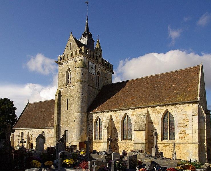 Photo du Monument Historique Eglise situé à Urville