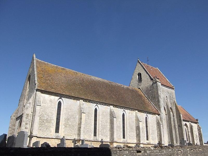 Photo du Monument Historique Eglise situé à Ussy