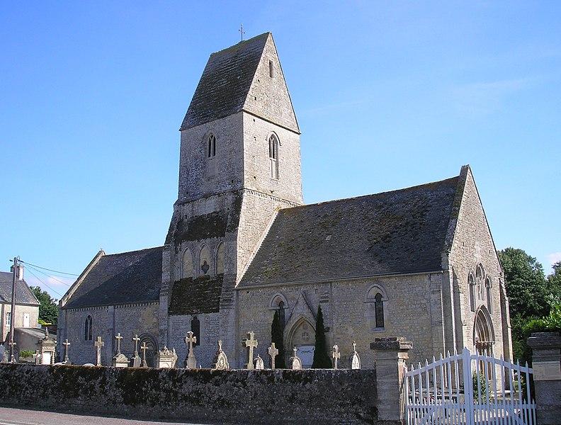 Photo du Monument Historique Eglise situé à Vaucelles