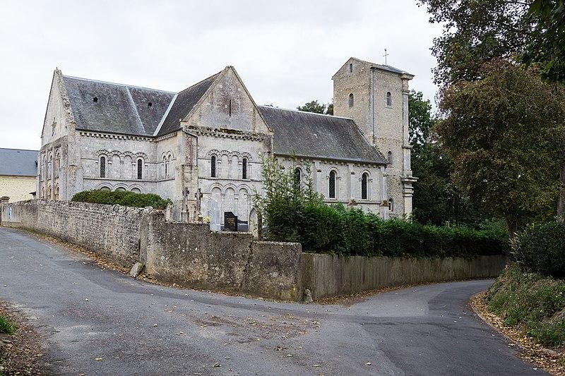 Photo du Monument Historique Eglise situé à Vaux-sur-Seulles