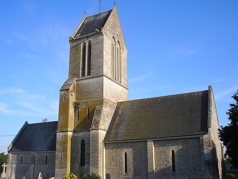 Photo du Monument Historique Eglise situé à Vendes