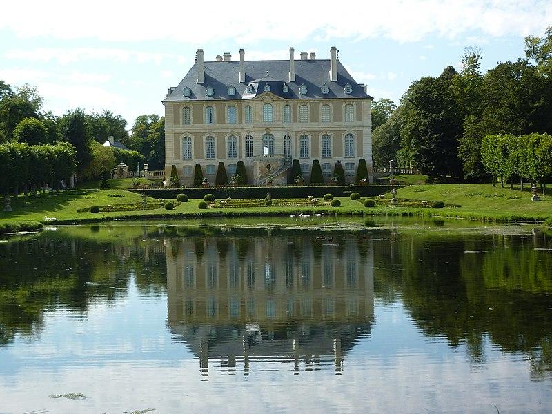 Photo du Monument Historique Château de Vendeuvre situé à Vendeuvre