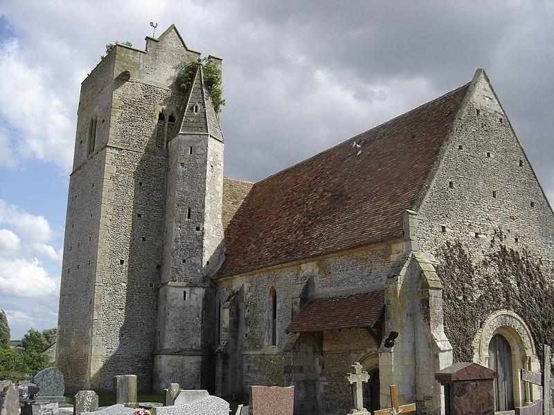 Photo du Monument Historique Eglise de Grisy situé à Vendeuvre