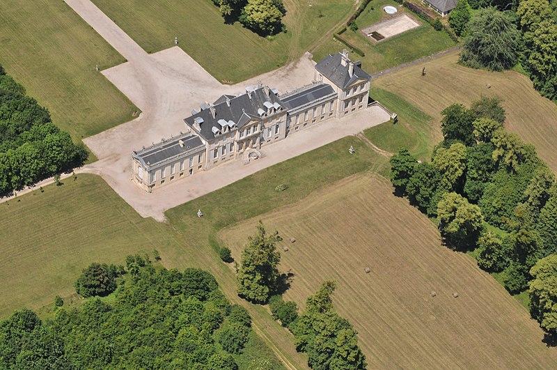 Photo du Monument Historique Château de Versainville situé à Versainville