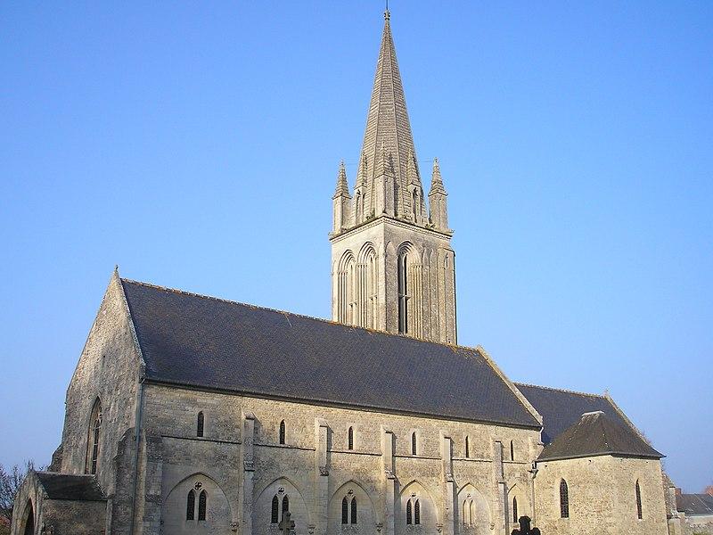 Photo du Monument Historique Eglise situé à Vierville-sur-Mer