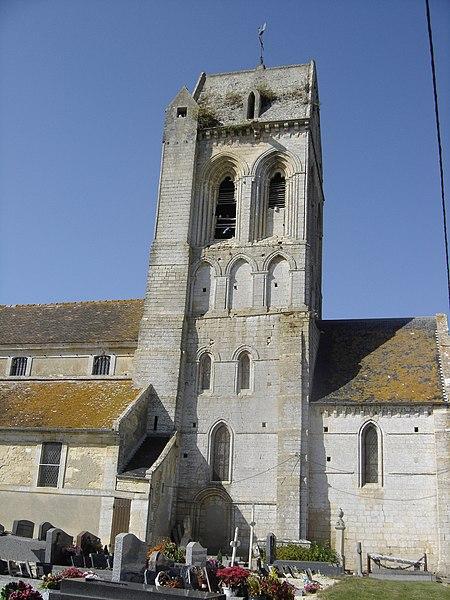 Photo du Monument Historique Eglise situé à Villiers-le-Sec