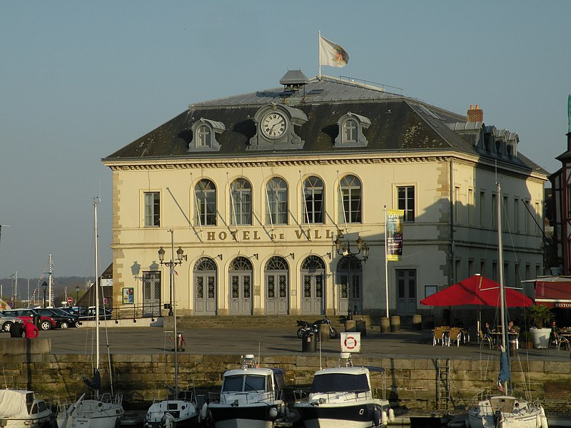 Photo du Monument Historique Hôtel de ville situé à Honfleur