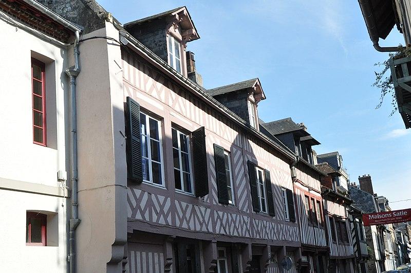 Photo du Monument Historique Propriété familiale du peintre Paul-Elie Gernez situé à Honfleur