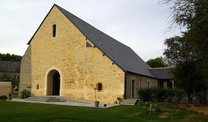 Photo du Monument Historique Ancien manoir de l'abbaye du Val Richer, dit Ferme de Foudenpant situé à Espins