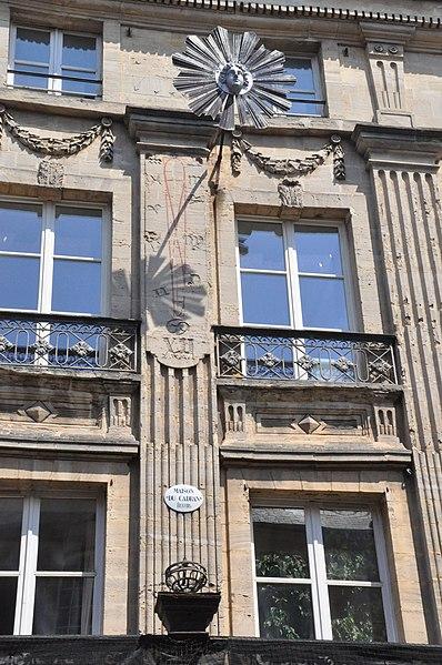 Photo du Monument Historique Immeuble dit Hôtel du Cadran situé à Bayeux