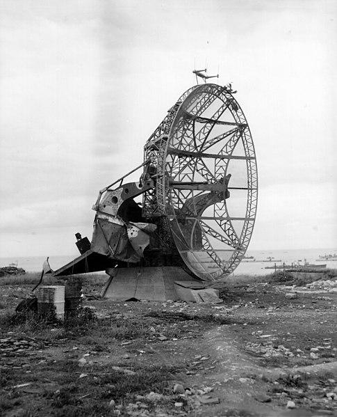 Photo du Monument Historique Ancienne station radar situé à Arromanches-les-Bains