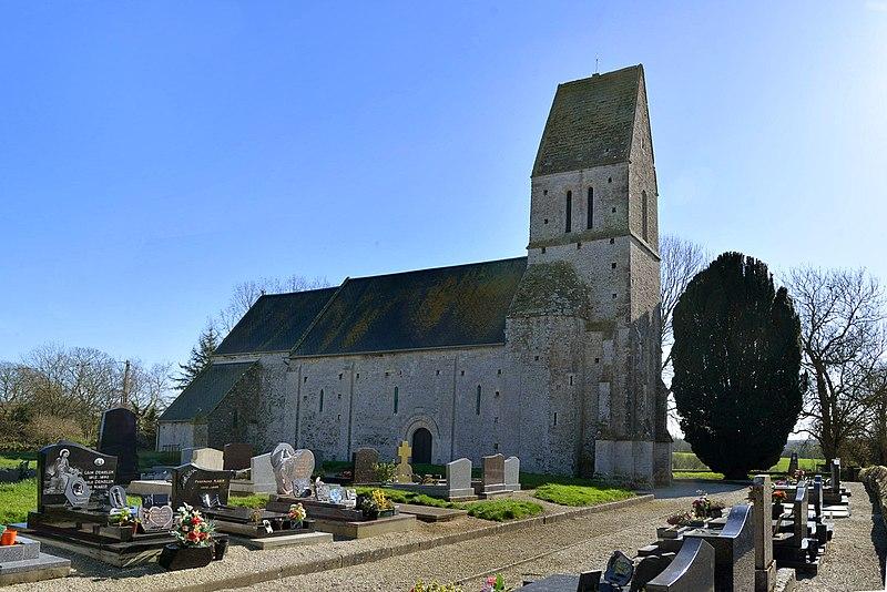 Photo du Monument Historique Eglise Saint-Clément situé à Osmanville