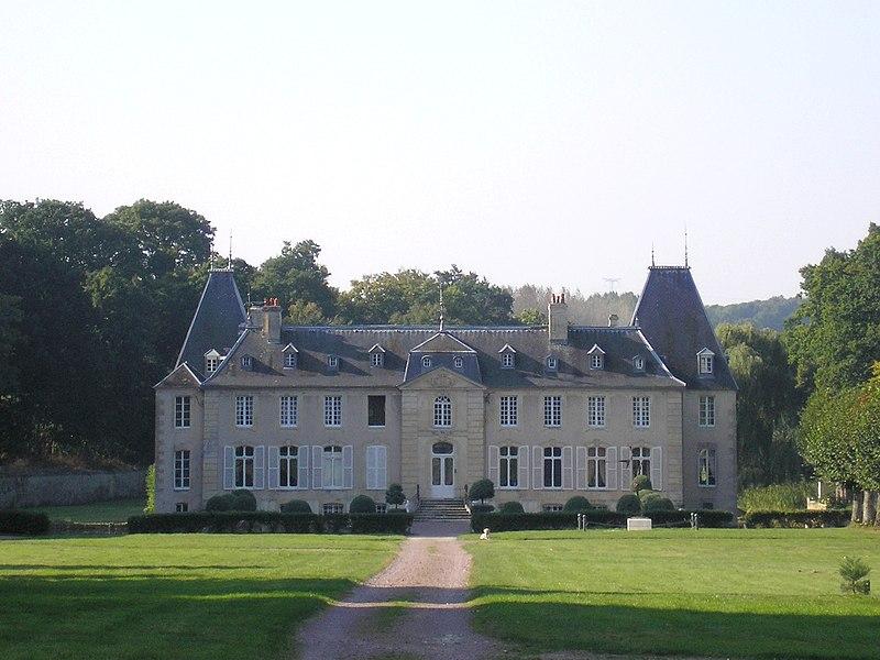 Photo du Monument Historique Château de Bougy situé à Bougy