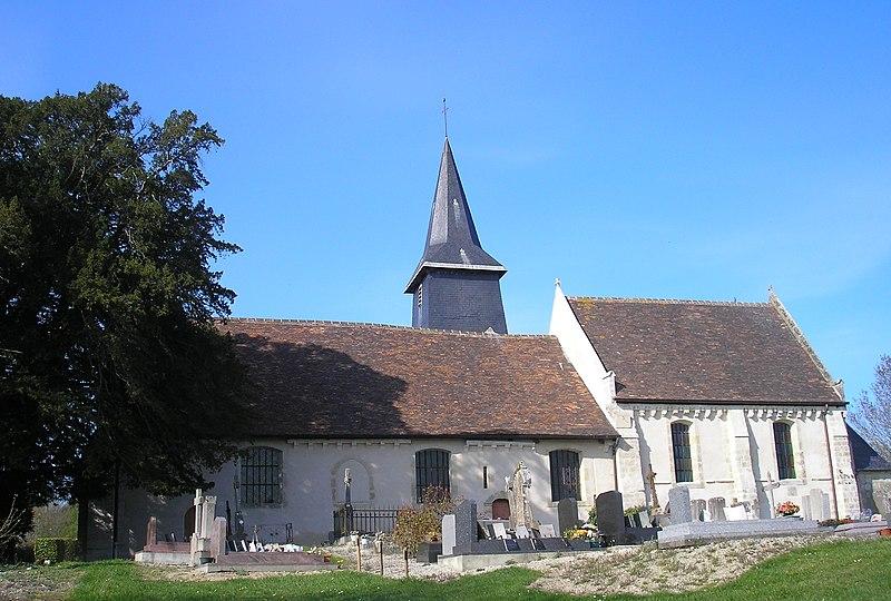 Photo du Monument Historique Eglise situé à Douville-en-Auge