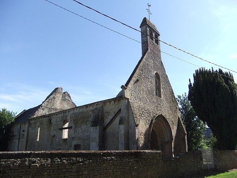 Photo du Monument Historique Chapelle de Torp situé à Villers-Canivet