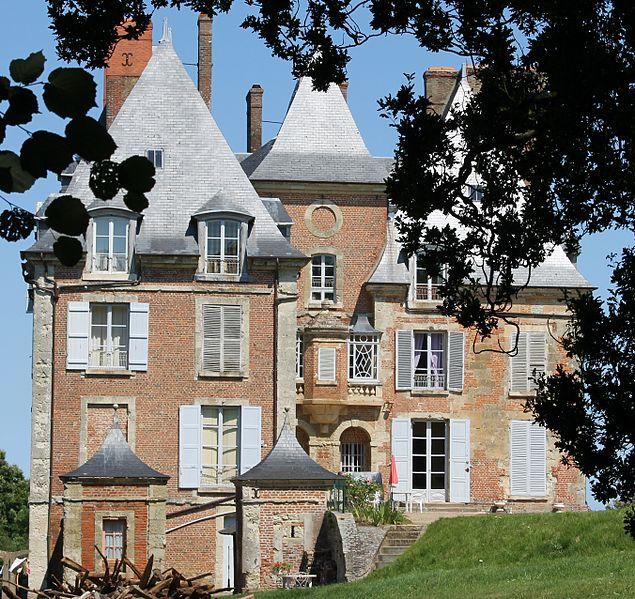 Photo du Monument Historique Château de Villers situé à Villers-sur-Mer