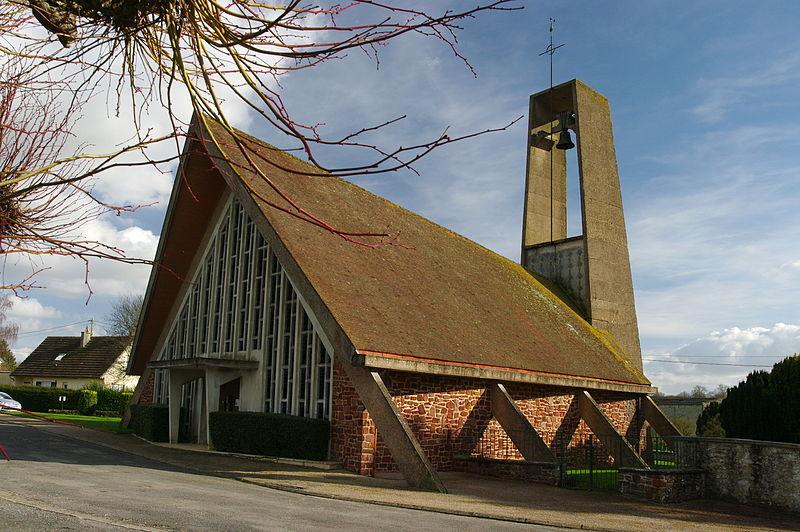 Photo du Monument Historique Eglise Saint-Pierre situé à Fontaine-le-Pin