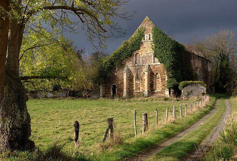 Photo du Monument Historique Ancienne abbaye Notre-Dame de Barbery situé à Bretteville-sur-Laize