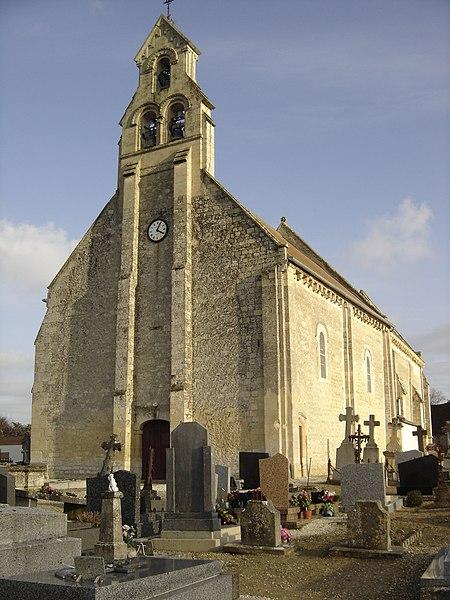 Photo du Monument Historique Eglise Notre-Dame de l'Assomption situé à Mathieu