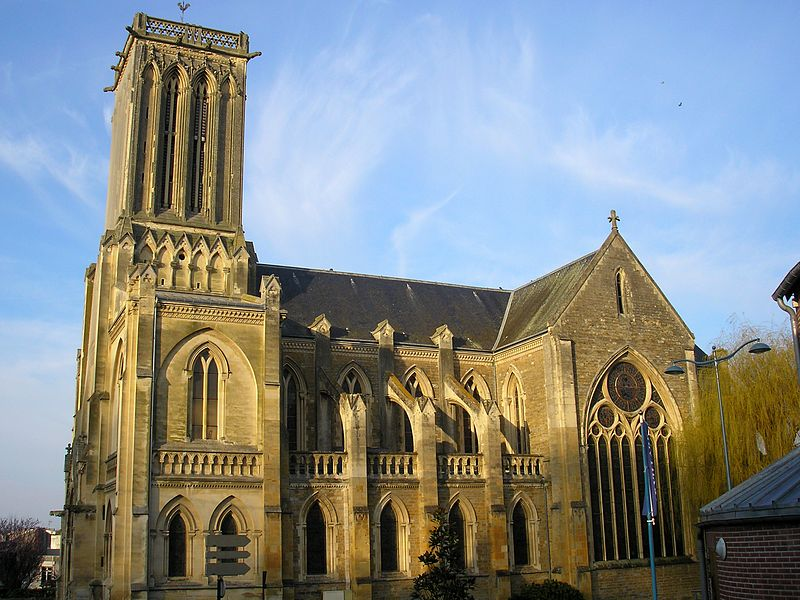 Photo du Monument Historique Eglise Saint-Martin situé à Villers-sur-Mer