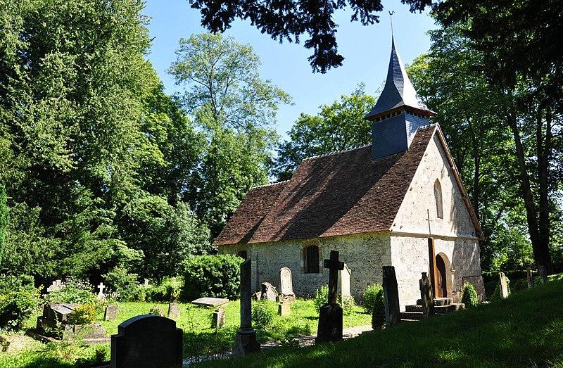 Photo du Monument Historique Eglise Saint-Aubin situé à Auquainville