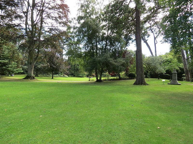 Photo du Monument Historique Jardin public situé à Bayeux