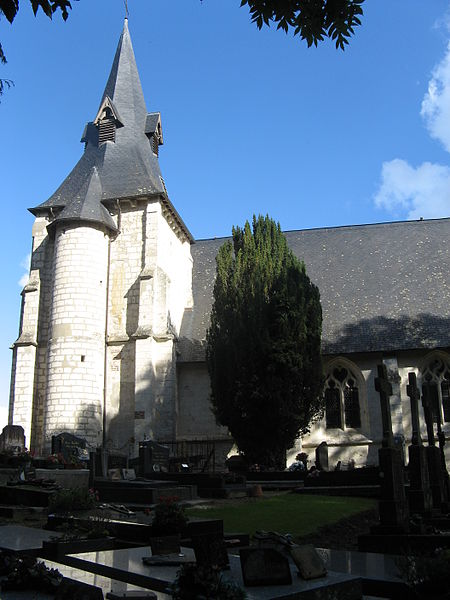 Photo du Monument Historique Eglise Saint-Etienne situé à Reux