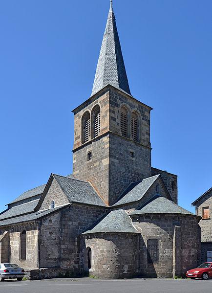 Photo du Monument Historique Eglise Saint-Jean-Baptiste situé à Allanche