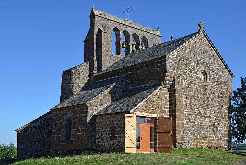 Photo du Monument Historique Eglise Saint-Cirgues situé à Andelat