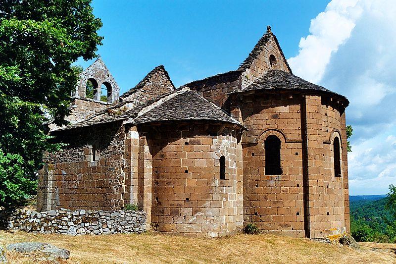 Photo du Monument Historique Ruines de la chapelle Notre-Dame du Roc-Vignonnet situé à Antignac