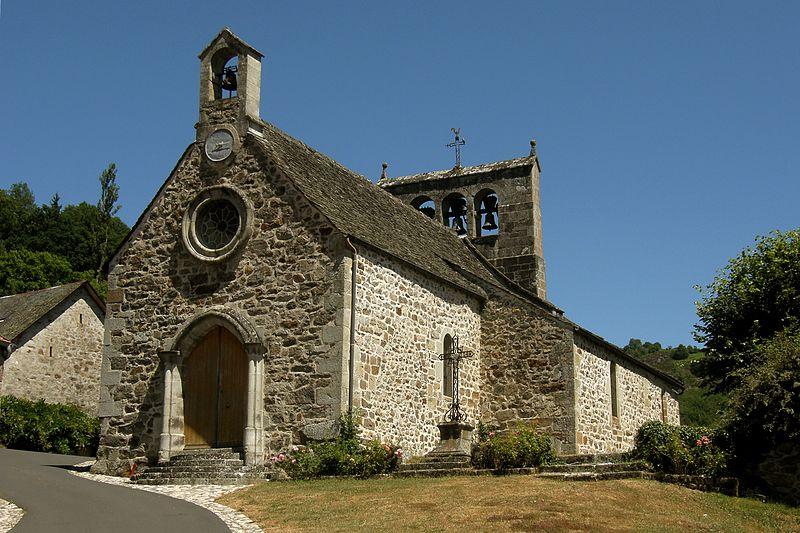 Photo du Monument Historique Eglise Saint-Pierre situé à Antignac