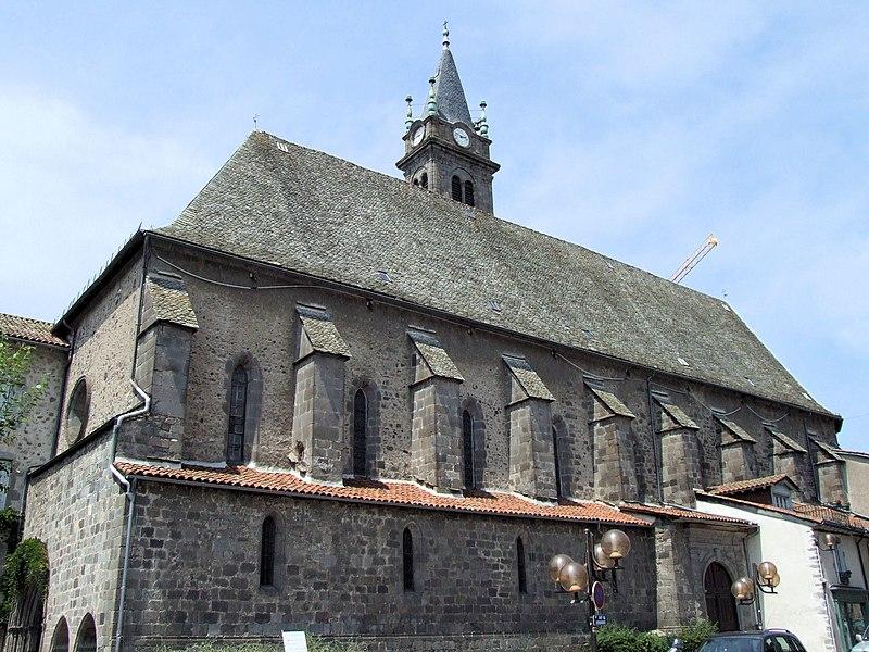 Photo du Monument Historique Eglise Notre-Dame-aux-Neiges situé à Aurillac