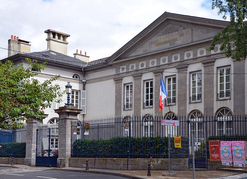 Photo du Monument Historique Hôtel de la Préfecture situé à Aurillac
