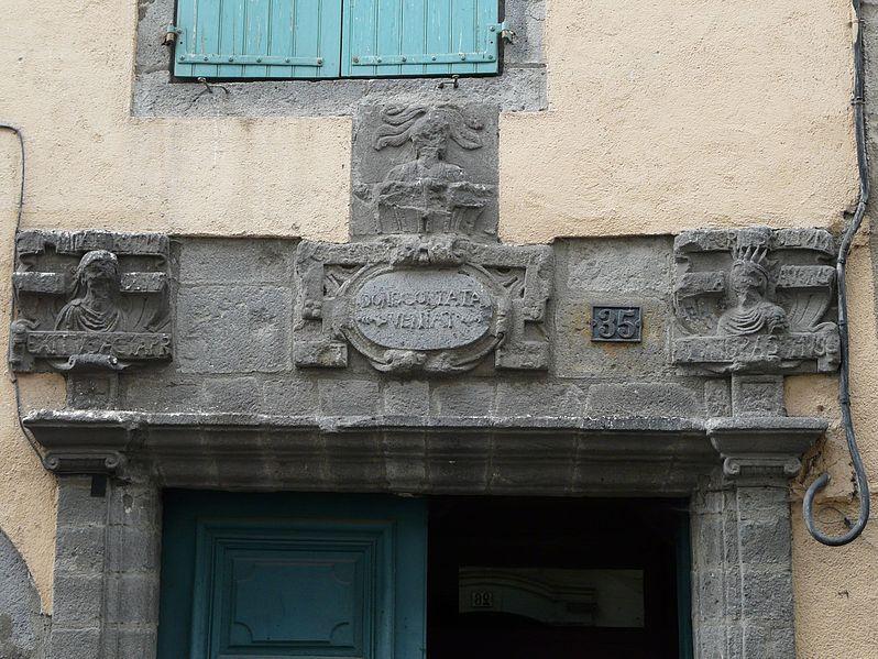 Photo du Monument Historique Hôtel du Président-Maynard situé à Aurillac