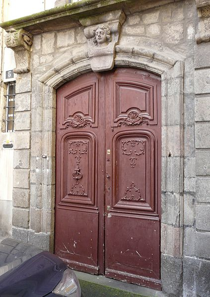Photo du Monument Historique Immeuble situé au fond de l'impasse Vernemouze situé à Aurillac