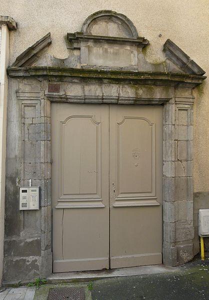 Photo du Monument Historique Maison situé à Aurillac