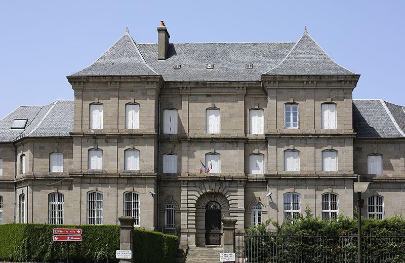 Photo du Monument Historique Prison situé à Aurillac