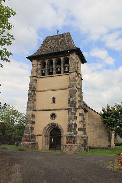 Photo du Monument Historique Eglise Saint-Martin situé à Barriac-les-Bosquets