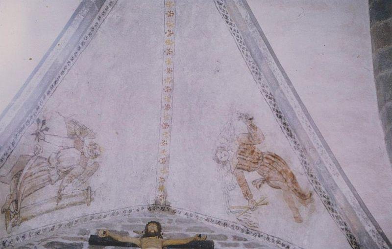 Photo du Monument Historique Eglise Saint-Germain situé à Cézens