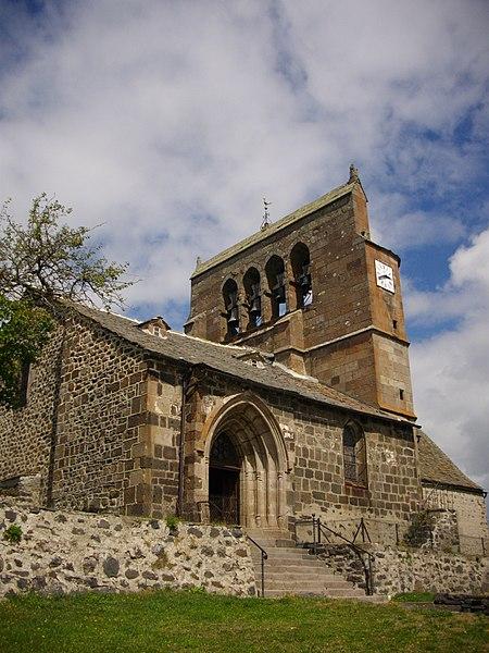Photo du Monument Historique Eglise Saint-Barthélémy situé à Chalinargues