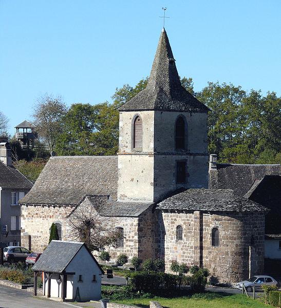 Photo du Monument Historique Eglise Saint-Martin situé à Chalvignac
