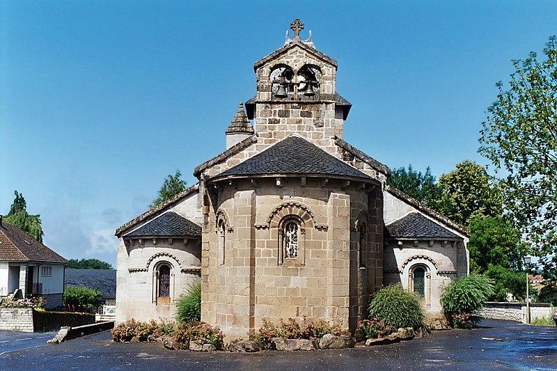 Photo du Monument Historique Eglise Notre-Dame situé à Champagnac