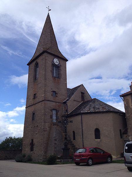 Photo du Monument Historique Eglise Notre-Dame de l'Assomption situé à La Chapelle-Laurent