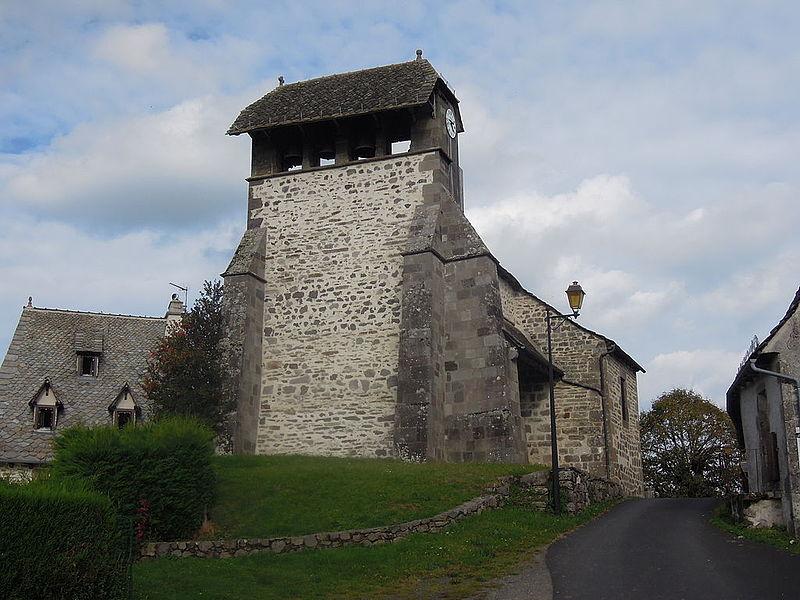 Photo du Monument Historique Eglise Saint-Hilaire situé à Cros-de-Ronesque
