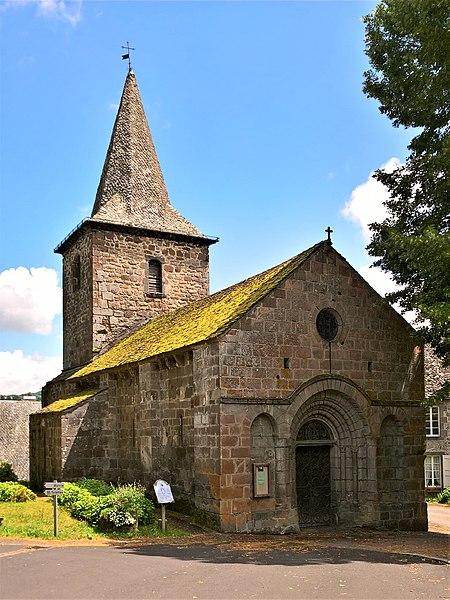 Photo du Monument Historique Eglise Saint-Martin situé à Jaleyrac
