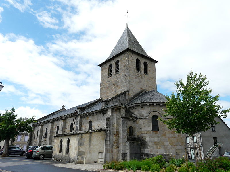 Photo du Monument Historique Eglise Saint-Jacques-le-Majeur situé à Lanobre